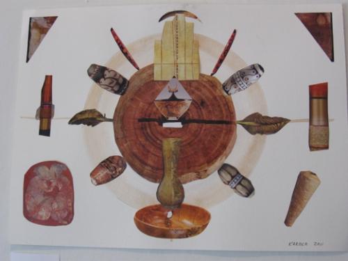 Mandala Collage by Kartika